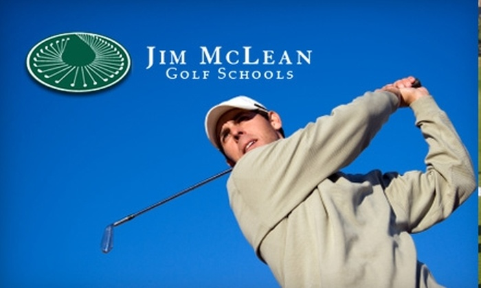 Jim McLean Golf School - La Quinta: $35 for a One-Hour Lesson with Certified Golf Instructor at Jim McLean Golf School at La Quinta Resort & Club ($125 Value)