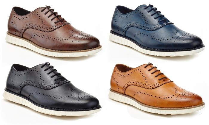 Adolfo Men's Armando Wingtip Oxford Shoes