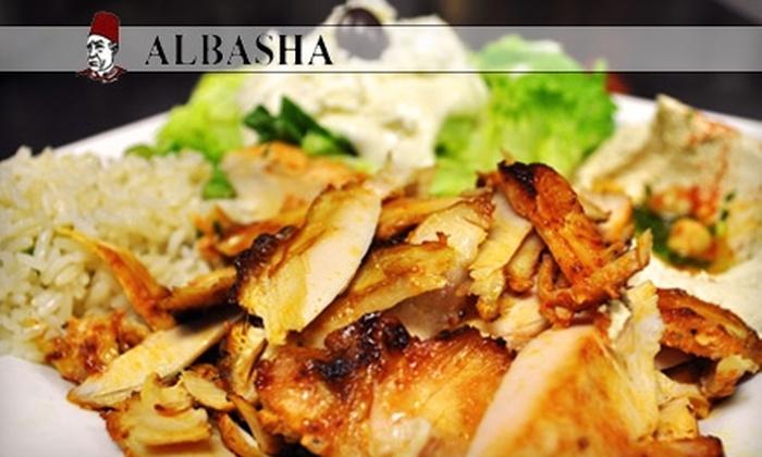 Albasha Greek & Lebanese Restaurant - Shreveport: $10 for $20 Worth of Fare and Drinks at Albasha Greek & Lebanese Restaurant