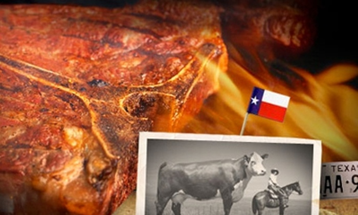 Cattle Call - Amarillo: $5 for $10 Worth of Texas Barbecue Lunch at Cattle Call (or $7 for $15 Worth of Dinner)