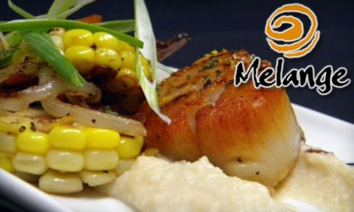 Melange Restaurant - Beachwood: $20 for $40 Worth of Modern and Organic American Fare at Melange Restaurant