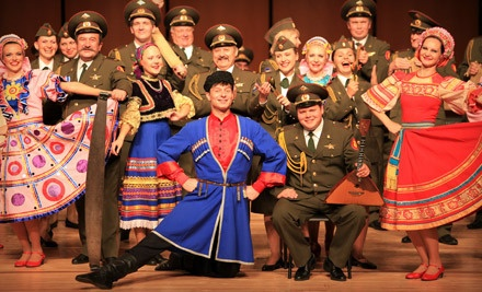 Red Star: Red Army Chorus and Dance Ensemble at the Marin Center on Fri., March 2 at 8PM: Dress-Circle Rows 33-34 - Red Star: Red Army Chorus and Dance Ensemble in San Rafael