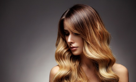 Hairstyling Package $29 + Half Head of Foils $75 at Hair La Natural, Surfers Paradise Up to $189.90 Value