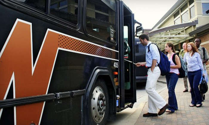 SouthWest Transit - Eden Prairie: $10 for 10 Bus Rides from SouthWest Transit (Up to $30 Value)