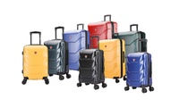 Deals on Dukap Zonix Hardside Lightweight Spinner Luggage 3-Piece