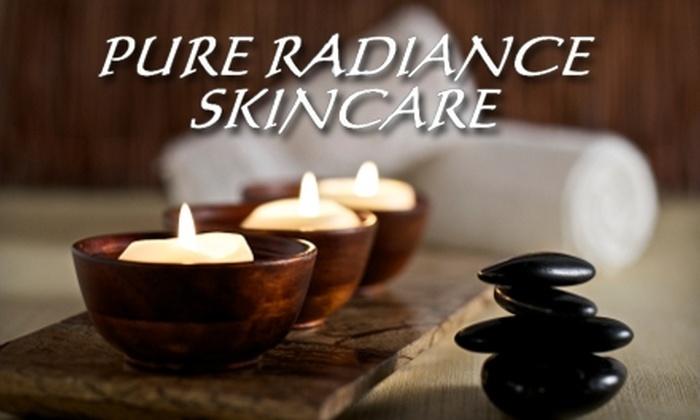 Pure Radiance Skincare - Santa Cruz: $29 for $70 Worth of Spa Services at Pure Radiance Skincare