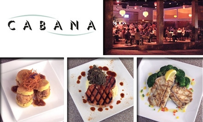 Cabana Casual Southern Comfort Cuisine - Nashville: $10 for $25 Worth of Contemporary Southern Cuisine and Drinks at Cabana