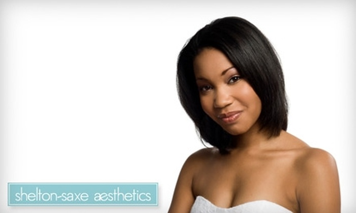 Shelton-Saxe Aesthetics - Fairfield: $25 for a Custom Skin Treatment Facial ($65 Value), One Month of Unlimited Level 2 Tanning ($56 Value), One Month of Unlimited Spray Tanning ($59 Value), or $50 Worth of Waxing Services at Shelton-Saxe Aesthetics