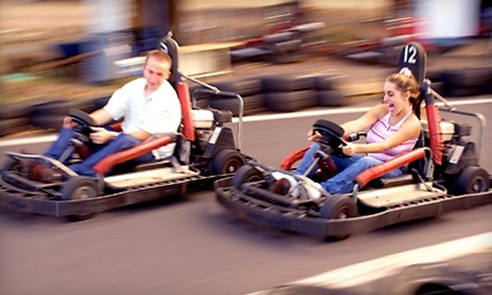 Karttrak Go-Karts - Caswell Hill: $15 for Four Wildcat Go-Kart Rides at Karttrak Go-Karts