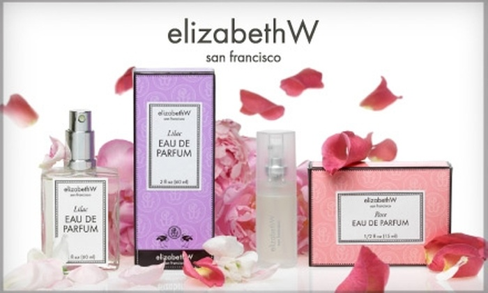 ElizabethW - Russian Hill: $10 for $20 Worth of Artisanal Scents and Products at ElizabethW