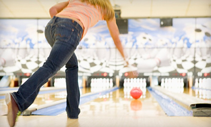 Airway Lanes - Waterford: $7 for a Bowling Package with Bowling, Shoe Rental, Soda, and a Hot Dog at Airway Lanes in Waterford (Up to $20.06 Value)