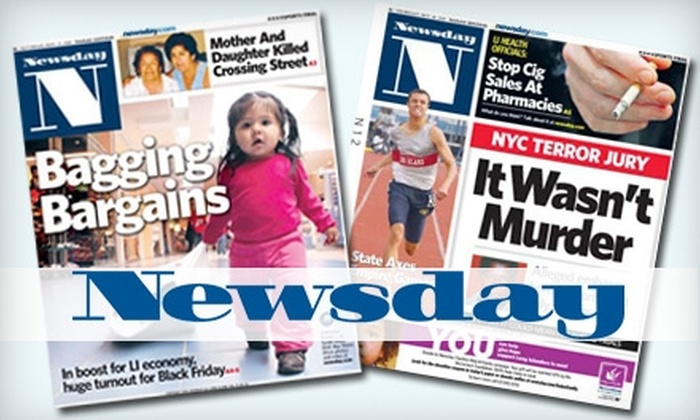 Newsday - Islandia: $25 for a One-Year Wednesday Through Sunday Subscription to Newsday ($207 value)