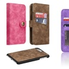 Detachable Magnetic Case with Card Slots Wallet Pouch
