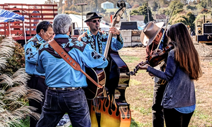 Boyertown Pickfest - Boyertown Rail Yard Corner of E 3rd St & Washington St : Admission for Two or Four to Boyertown Pickfest on October 17–18 (Up to 47% Off)