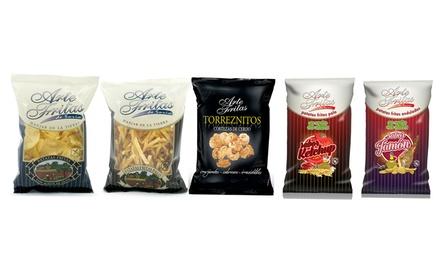Fino a 24 confezioni di patatine artigianali disponibili in diversi formati e gusti