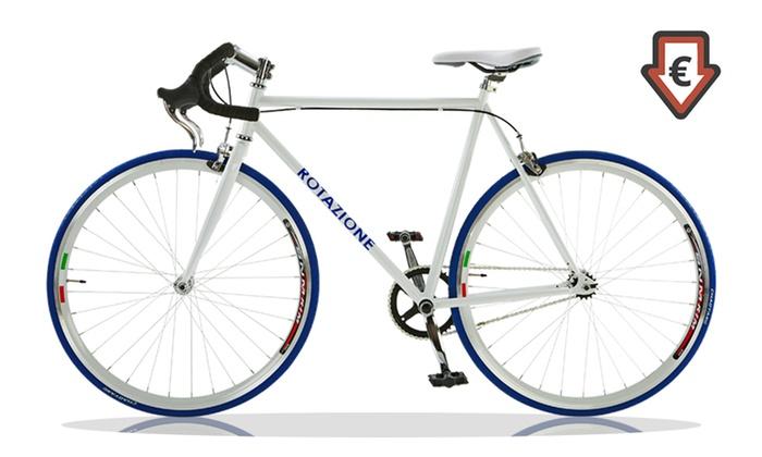 Bicicletta A Scatto Fisso 27 Groupon Goods