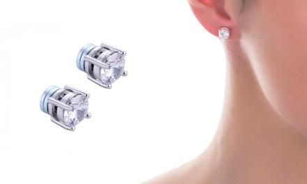Orecchini Magnetici con cristalli