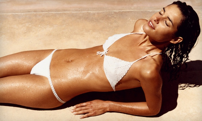 Planet Beach Contempo Spa - Lakewood: Three, Six, or Ten Spray-Tanning Sessions at Planet Beach Contempo Spa in Lakewood