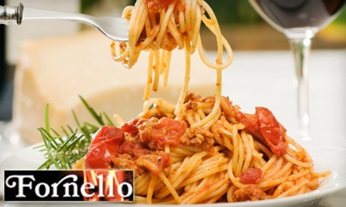 Fornello Trattoria - Lakeview: $20 for $40 Worth of Italian Cuisine at Fornello Trattoria