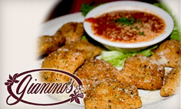 Gianino's - Saint Louis: $12 for $25 Worth of Italian Dinner Fare or $6 for $12 Worth of Lunch at Gianino's