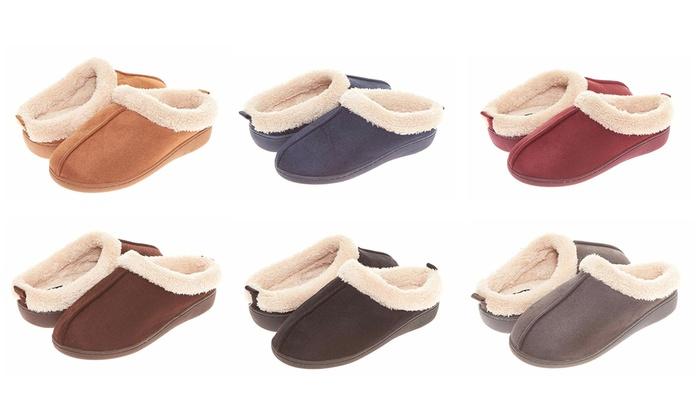 7561eeac118 Seranoma Women s Slip-On Memory-Foam Indoor House Clog Slippers. Seranoma  Women s Clog Slippers