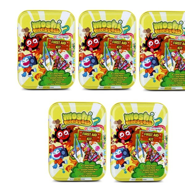 $12 99 for Five Moshi Monsters First Aid Kits