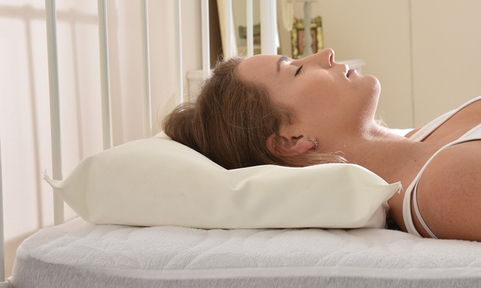 One or Two Latex Contour Pillows from £13