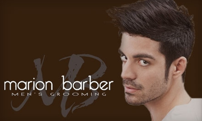 Marion Barber Men's Grooming - South Forest Park: $18 for a Signature Haircut at Marion Barber Men's Grooming