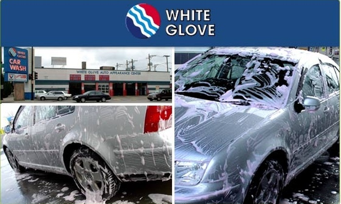 White Glove - DePaul: $50 for 5 Interior/Exterior Car Washes (Save $40)