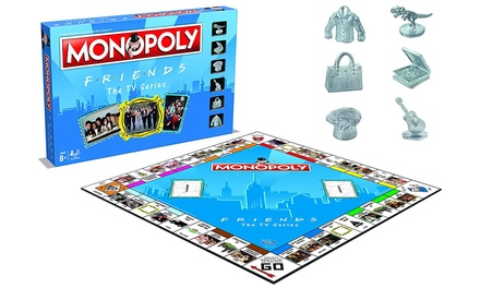 Winning Moves Monopoly Friends Edition With Free Delivery