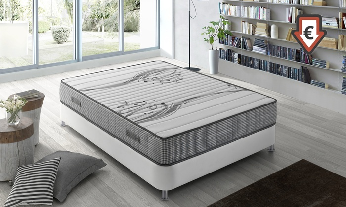 matelas m moire de forme boston groupon. Black Bedroom Furniture Sets. Home Design Ideas