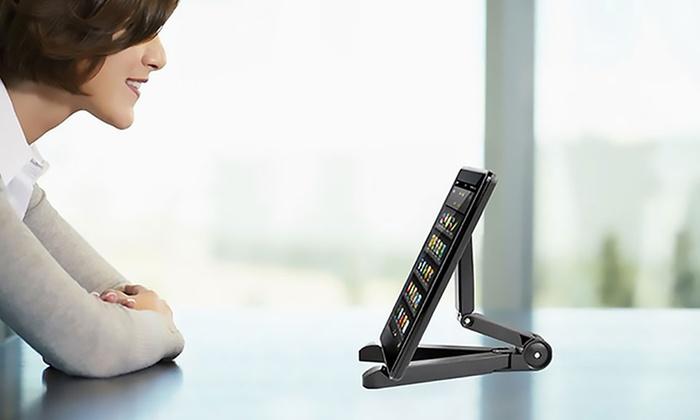 Groupon Goods Global GmbH: Soporte trípode multiángulo para tablet por 3,99 € (74% de descuento)