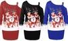 Leo Rosi Women's Zoey Christmas Dress. Plus Sizes Available.