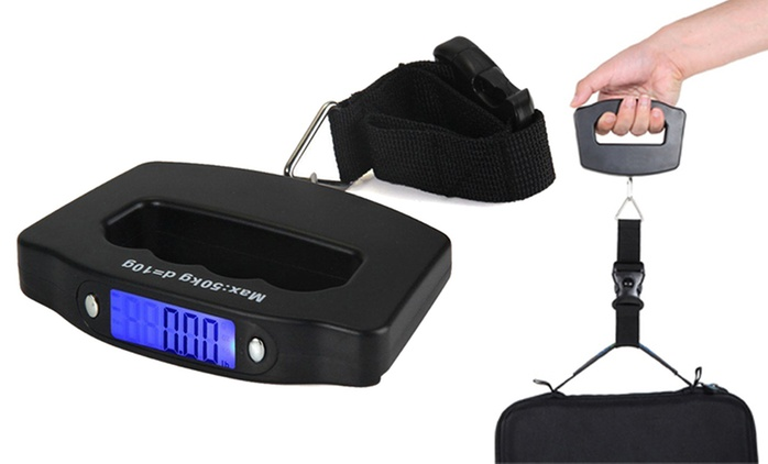 Portable Electronic Luggage Scales: One ($15) or Two ($25)