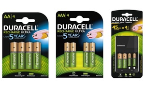 Piles + Chargeur Duracell