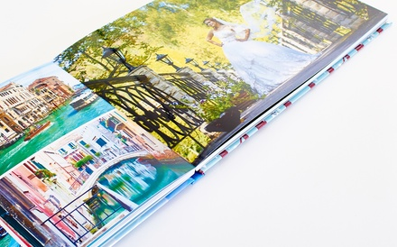 Custom Premium​ ​Layflat​ ​Hardcover Photo Book from Collage.com (Up to 79% Off)