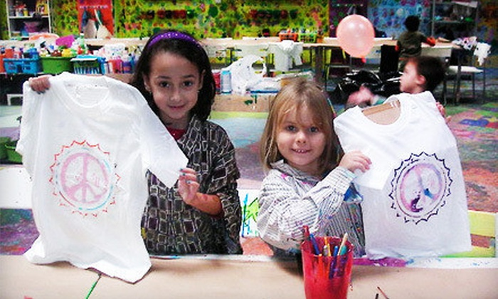 Studio Art - Huntington: Two-Hour Art Birthday Party with Crafts for Up to 10, or Five-Day Day Camp at Studio Art in Huntington (Up to 60% Off)