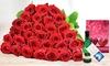 10 bis 30 Rote Rosen im Bund