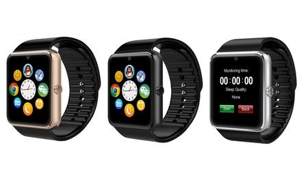 Smartwatch mit Edelstahlgehäuse in der Farbe nach Wahl inkl. Versand (81% sparen*)