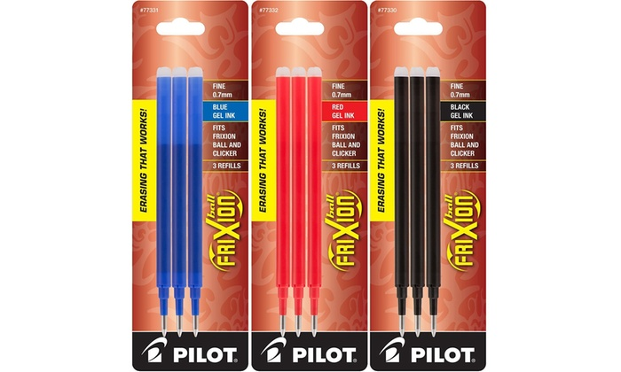 Pilot Purple / Violet Frixion Rollerball Erasable Pens Pen Refills  Replacement Spare Ink BLS-FR7
