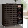 Shirley 2-Door Shoe Cabinet with Open Shelves