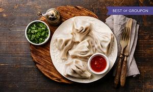 Restauracja Gruzińska Supra: Pierożki chinkali od 22,99 zł w Restauracji Gruzińskiej Supra (do -50%)
