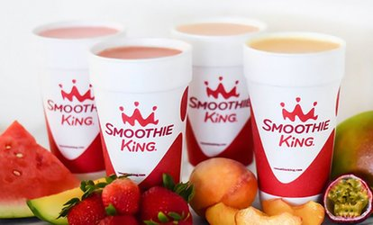 image for Three or Five $5 vouchers at Smoothie King (Up to 48% Off)