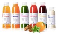 Wertgutschein über bis zu 50 € anrechenbar auf Juice Cleanses oder Suppen im Online-Shop von dean&david Superfood