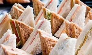 El rey: 4 docenas de sándwiches de miga triples + 1 docena de masas secas en El Rey