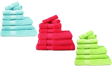 Set de toallas con 7 piezas