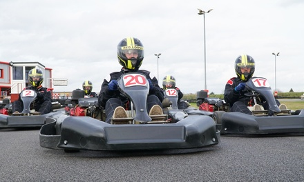 Honda GX270 Karting Experience for Up to Six at Red Lodge Karting (Up to 50% Off)