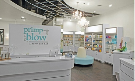 Blowout Packages at Primp and Blow (Up to 45% Off). Two Options Available.