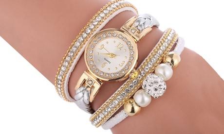 1 ou 2 montres avec bracelet serpent en simili cuir
