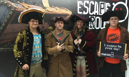 Admission for Two, Four, or Six at Rockville Escape Room (Up to 33% Off)